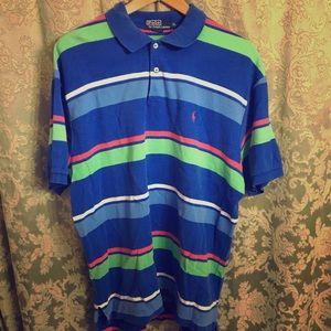 Vintage striped polo Ralph Lauren shirt